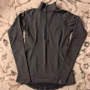 Gray Reebok Small Running Track Jacket